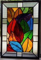 Fall Leaves Panel