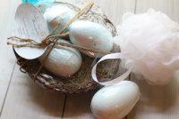 Robin's Egg Lavender Bath Bomb Nest
