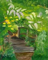 Into the Woods Oil Painting.JPG